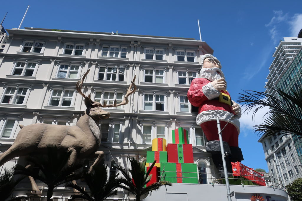 クリスマスも準備万端?